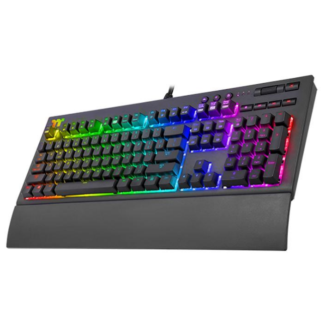 Keyboard TT Premium X1 RGB Cherry MX Speed Silver KB-TPX-SSBRUS-01
