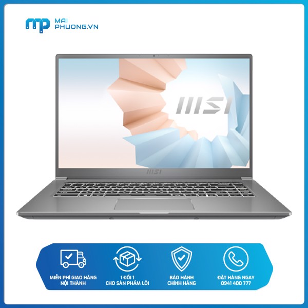 Laptop MSI Modern 15 i5-1135G7/8GB/512GB SSD/14