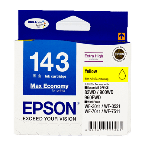 Mực In Epson T143490 (143) Yellow