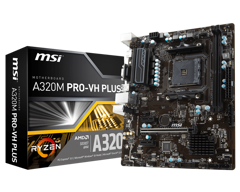 Mainboard MSI A320M PRO-VH PLUS