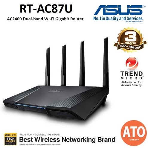 Router ASUS RT-AC87U AC2400