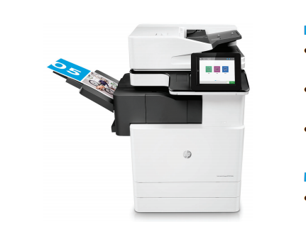 Máy Photocopy HP LaserJet Managed MFP E87660dn