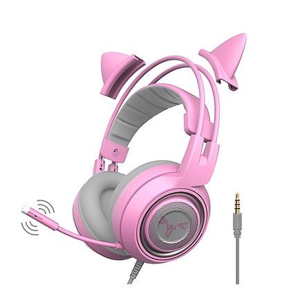 Tai nghe HEADPHONE LED SOMIC G951S PINK