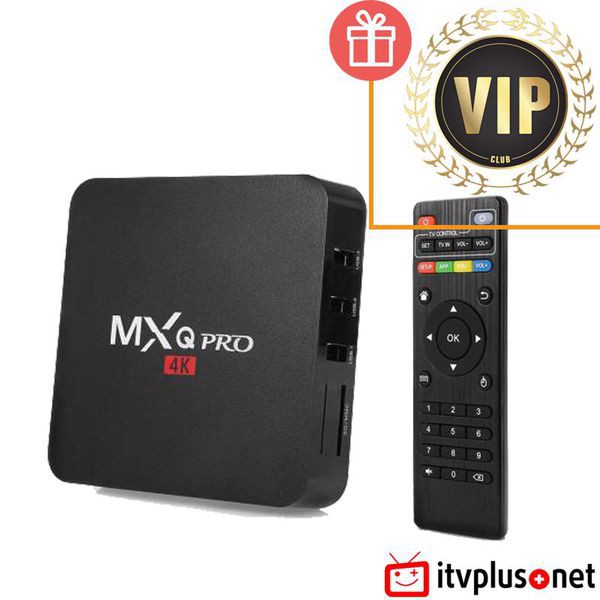 BOX MXQ PRO - CHIP AMLOGIC S905, ANDROID 5.1
