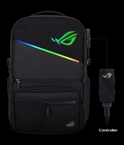 Balo ASUS ROG Backpack Aura RGB BP3703G