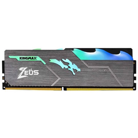 Ram Kingmax 8GB Bus 3000 DDR4 HeatSink Zeus Dragon RGB