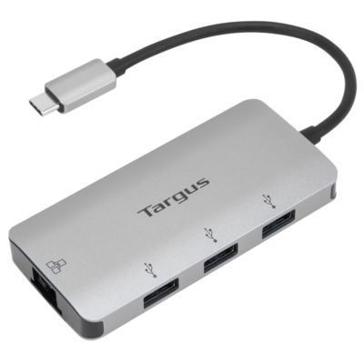 Cáp Targus USB-C Multi-Port Hub with Ethernet Adapter USB-C ACA959AP-50