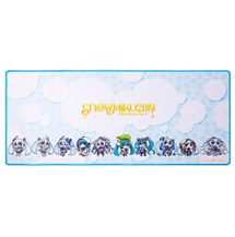 Tt eSPORTS DASHER EXTENDED SNOW MIKU EDITION Gaming Mouse Pad MP-DSH-BLKSXS-09