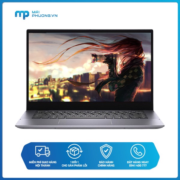 LAPTOP DELL INSPIRON 5406 (N4I5047W-Gray)