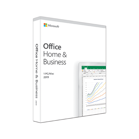 Phần mềm Microsoft Office Home and Business 2019 English APAC EM Medialess T5D-03249