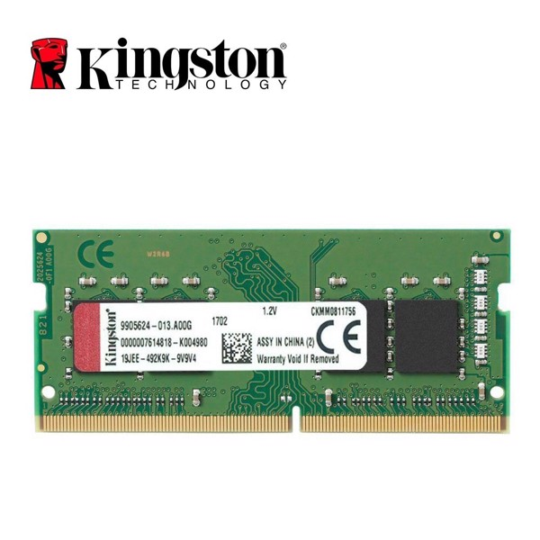 Ram Laptop Kingston 8GB D4-2666S19 1Rx8 SODIMM KVR26S19S8/8