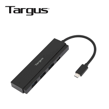 Cáp Targus USB-C 4-Port Hub (3A1C) with PD (60W) USB-C ACH934AP-50