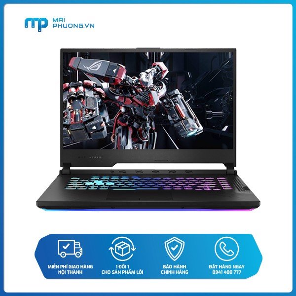 Laptop ASUS ROG Strix G15 G512L UHN145T  144Hz/ i7-10750H/8GB/512GB SSD/NVIDIA GeForce GTX 1660Ti/Windows 10 Home SL 64-bit