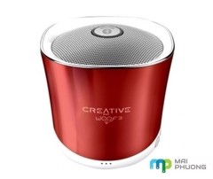 Loa Bluetooth Creative Woof 3 Rogue Red