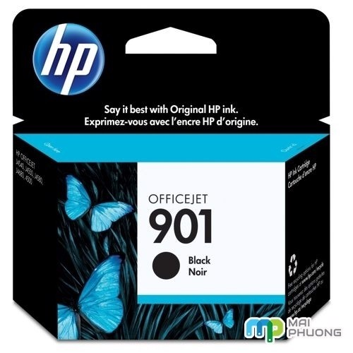 Mực In Hp 901 CC653A Black