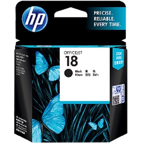 Mực in HP 18 Black Original Ink Cartridge C4936A