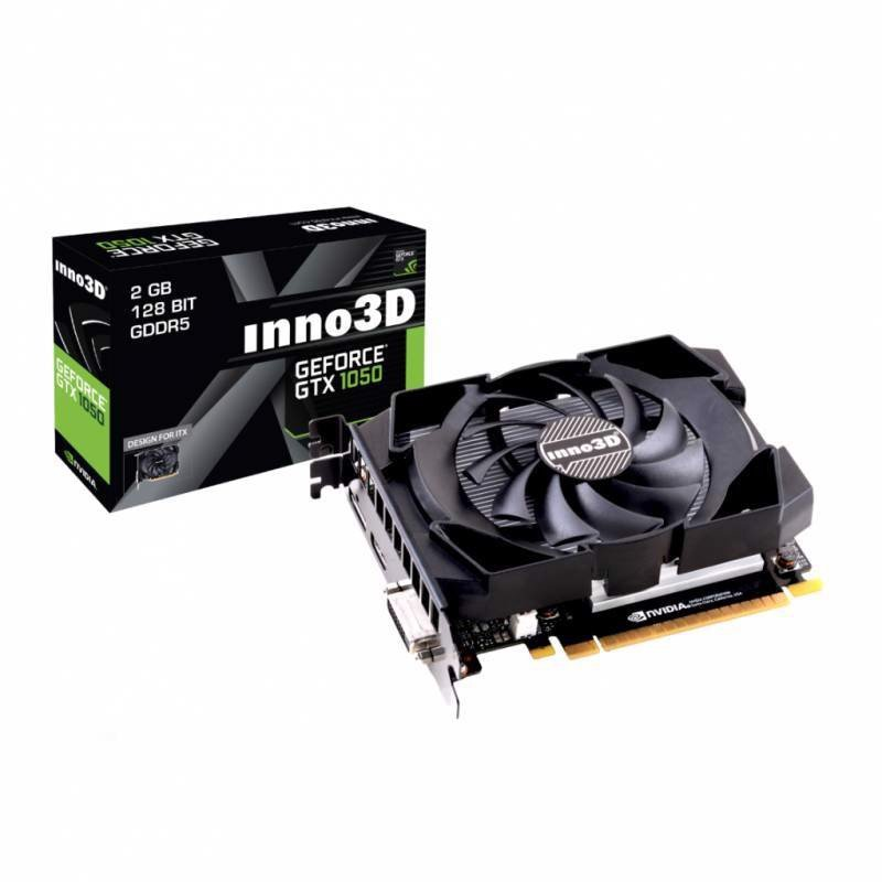 INNO3D GeForce GTX 1050 Twin X2 2GB N1050-1DDV-E5CM