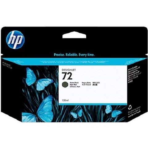 HP 72 Matte Black DesignJet Ink Cartridge - (C9403A)