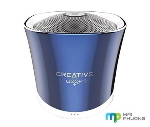 Loa Bluetooth Creative Woof 3 Crystallite Blue
