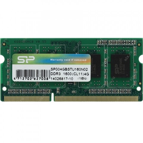 Silicon Power DDR3/4GB/1600Mhz - (SP004GBSTU160N02)