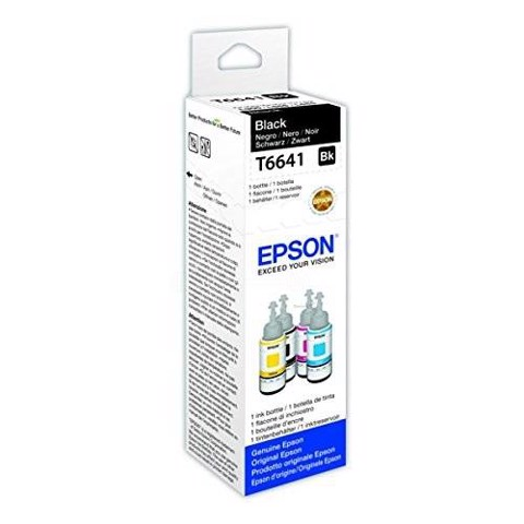 Mực In Epson T664100 (L100/L200) Black C13T664193