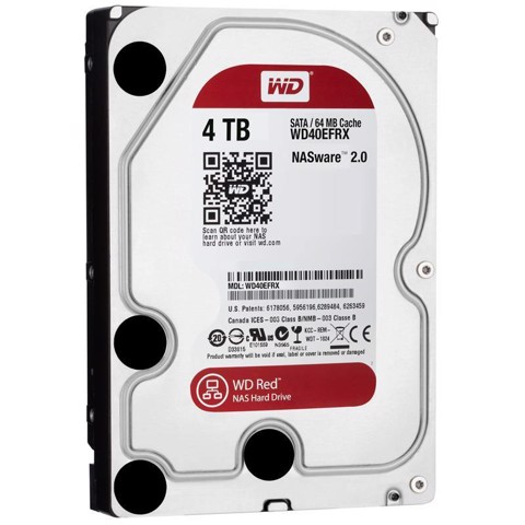 Ổ cứng gắn trong Western Red HDD 4TB Sata (WD40EFRX)