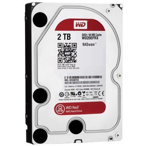 Ổ Cứng Gắn Trong Western Digital Red HDD 2TB WD20EFRX