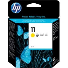 HP 11 Yellow Original Ink Cartridge - (C4838A)