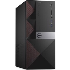 Dell Vostro 3669 Mini Tower i5-7400/4GB/1TB/DVDRW/Win10 - (42VT360W12)