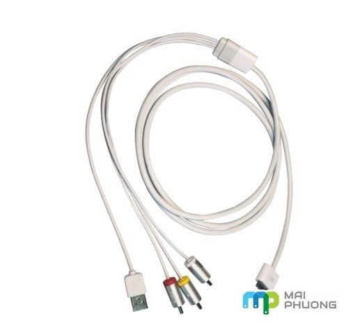 Cáp  Ipad To 5Av + Usb (1.8M)