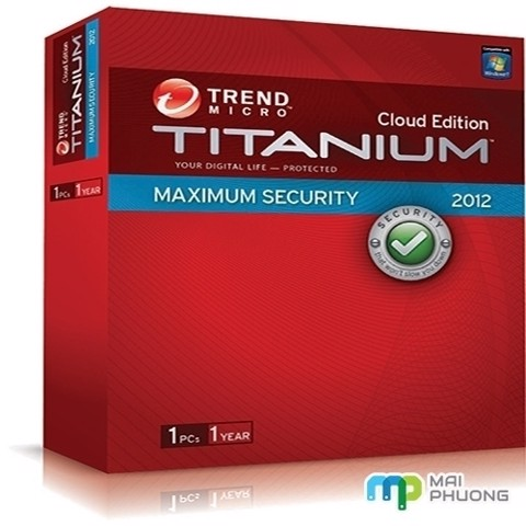 Phần MềmTitanium Maximum Security 2012 1User