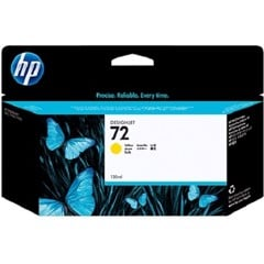 HP 72 Yellow DesignJet Ink Cartridge - (C9373A)