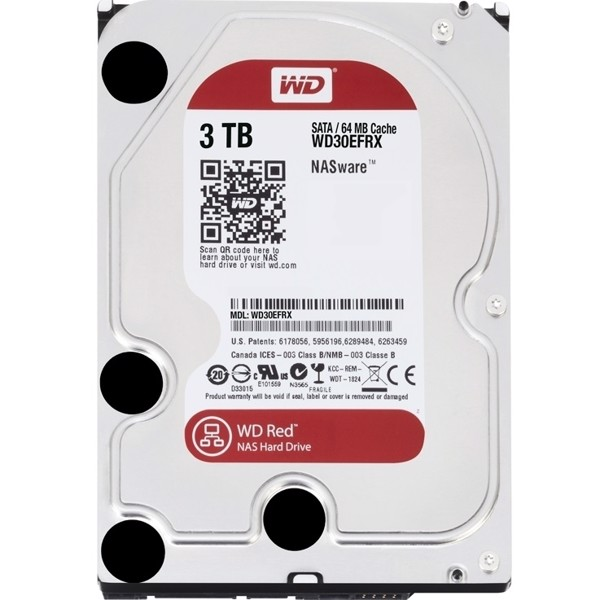 Western Red Sata 3TB - (WD30EFRX)