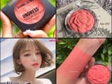 Review Phấn má hồng Sivanna Colors Undress Your Skin Matte Blush Thái Lan
