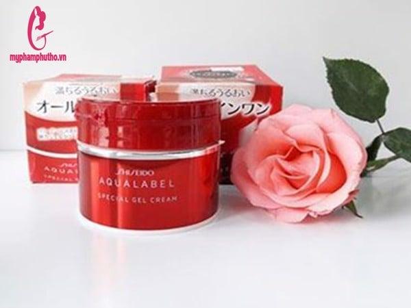 MyPhamNhat.Info Kem dưỡng da Shiseido Aqualabel 5 trong 1 Special Gel Cream Oil