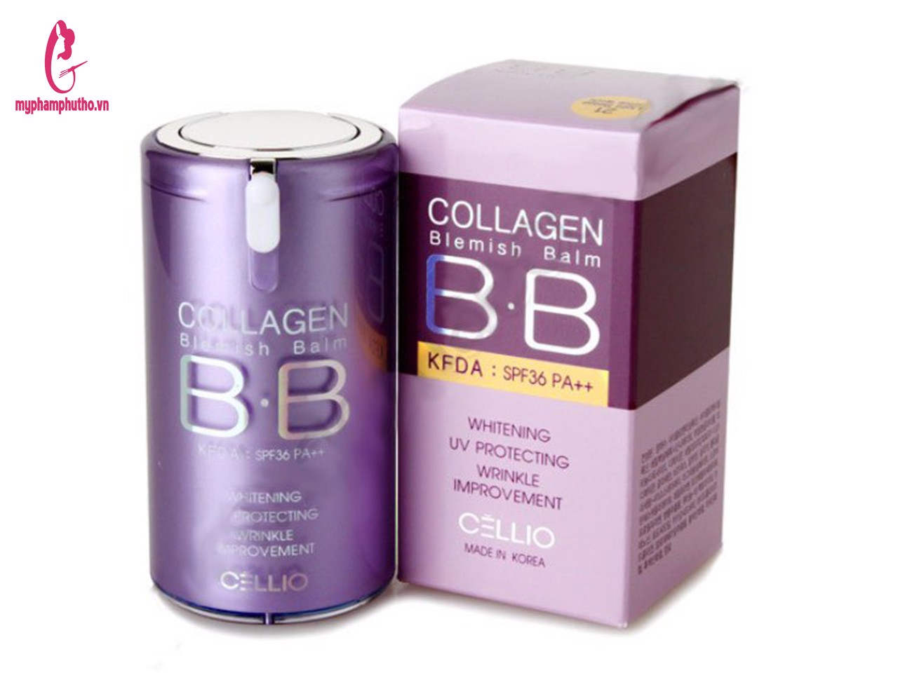 Kem nền BB Cellio Collagen Blemish Balm