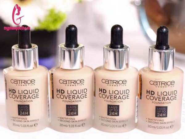 Kem nền Catrice HD Liquid Coverage Foundation 24h