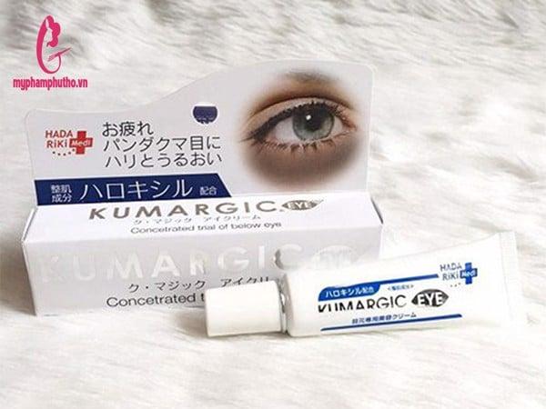 Kem trị thâm quầng mắt Cream Kumargic Eye [ Nội Địa Nhật ]