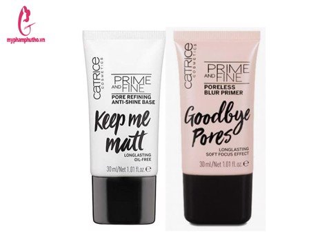 Kem lót kiềm dầu Catrice Prime and Fine Pore Refining anti shine base