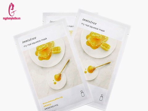 Innisfree My Real Squeeze Mask Manuka Honey (Mật ong)