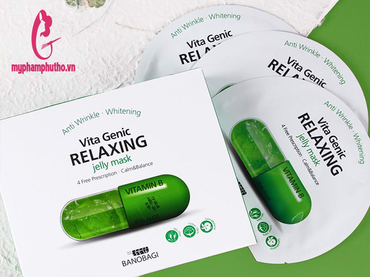 Mặt Nạ Vita Genic Relaxing Jelly Mask