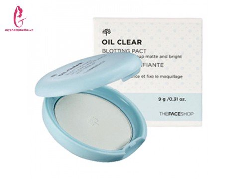 Phấn nén kiềm dầu Oil Clear The Face Shop