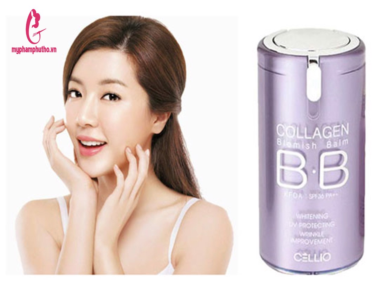 Review Kem nền BB Cellio Collagen Blemish Balm