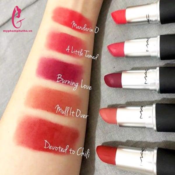 Son M.A.C Power Kiss Lipstick ( vỏ nhám) chính hãng USA