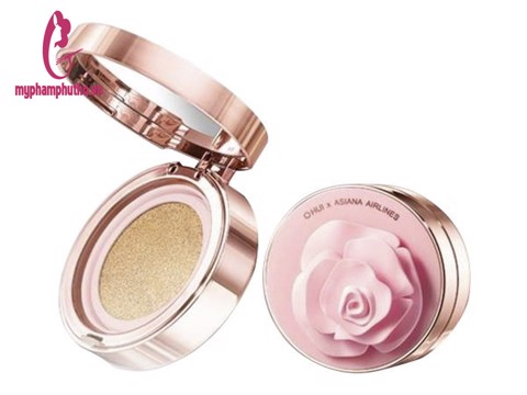 Phấn Nước Ohui Ultimate Cover Cushion Moisture Rose Petal Edition (15g)