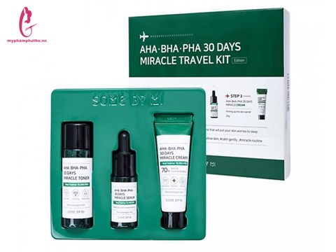 Set mini trị mụn Some By Mi AHA- BHA-PHA 30 Days