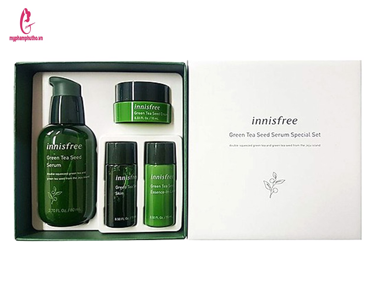 Set tinh chất trà xanh Innisfree Balancing EX ( 4 món)  In Barcode  Product Recommend  Product Tabs