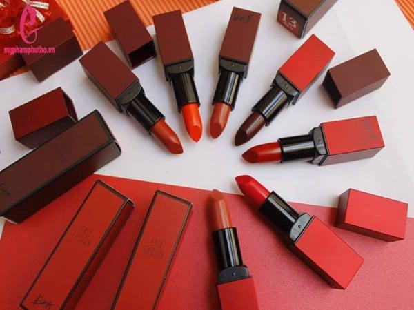 Son thỏi siêu lì BBIA Last Lipstick Red Series Version 3 chính hãng