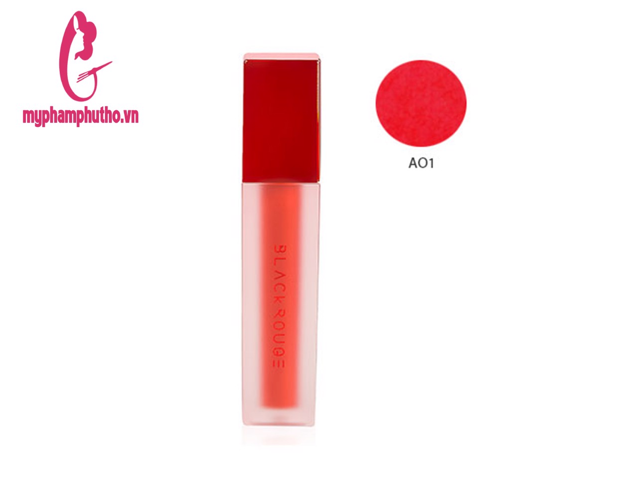 Son Kem Siêu Lì Black Rouge Air Fit Velvet Tint Màu A01