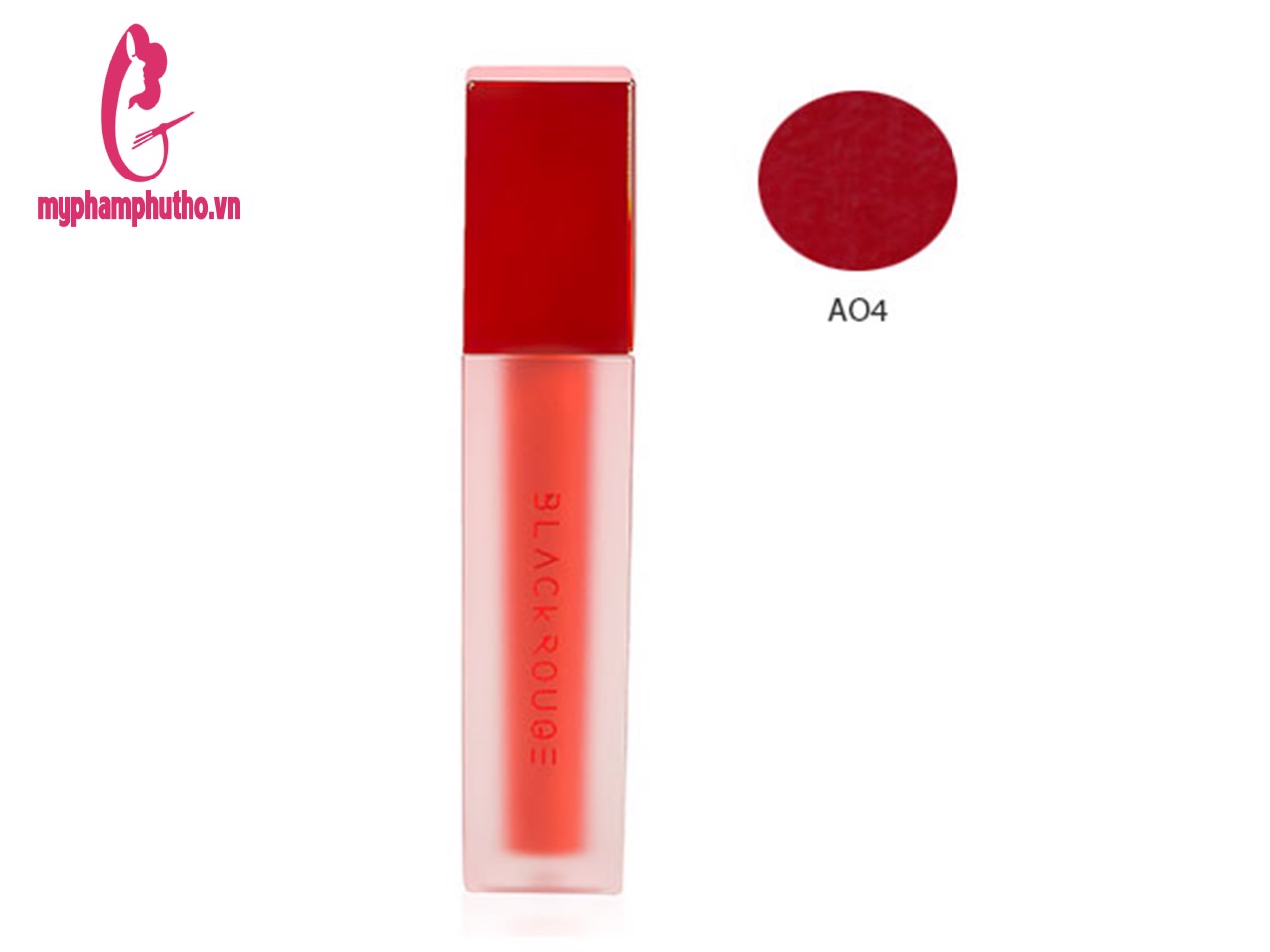 Son Kem Siêu Lì Black Rouge Air Fit Velvet Tint Màu A04